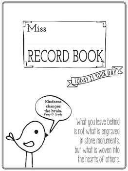 The Best Printable Teacher Record Book