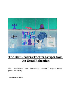 """""""The Best Readers Theater Scripts from the Usual Bohemian I"""" New Book Trailer"""