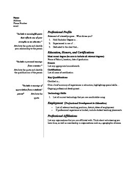 Stand Out Unique And Clean Resume With Quotes