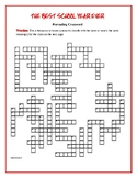 The Best School Year Ever: 50-Word Prereading Crossword—Great Warm-Up!