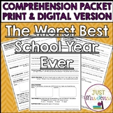 The Best School Year Ever Comprehension Packet