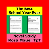 The Best School Year Ever Novel Study