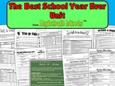 The Best School Year Ever Unit from Lightbulb Minds