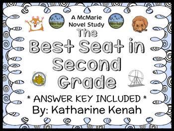 The Best Seat in Second Grade (Katharine Kenah) Novel Stud