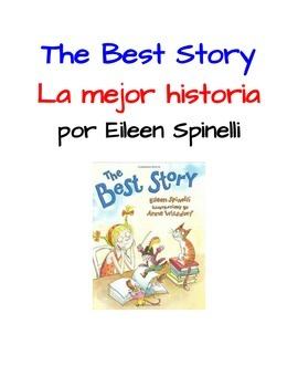 The Best Story by Eileen Spinelli - Actividades en Español