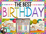 The Best Student Birthday Decor and Activity Kit