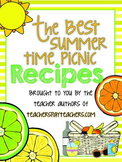 The Best Summertime Picnic Recipes Cookbook FREE!! Brought