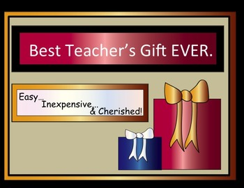 The Best Teacher's Gift Ever #1