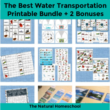 Air And Water Transportation Worksheets & Teaching Resources