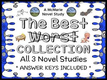 The Best Worst COLLECTION (Barbara Robinson) 3 Novel Studies | The Herdmans