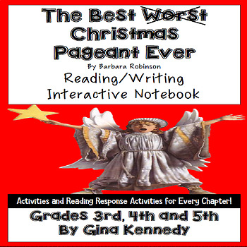 the best christmas pageant ever novel study - The Best Christmas Pagent Ever