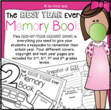 The Best Year Ever: End of Year Class Memory Book