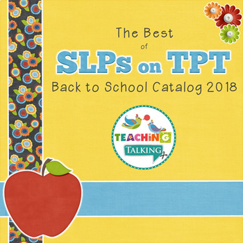 The Best of SLPs on TPT - Back to School Catalog 2015