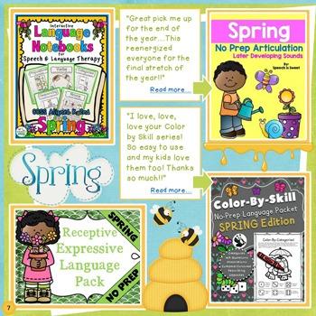 The Best of SLPs on TPT - Spring / Summer Catalog 2016