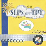 The Best of SLPs on TPT - Summer Catalog 2015