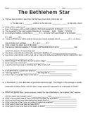 The Bethlehem Star- Fill in the Blank Worksheet