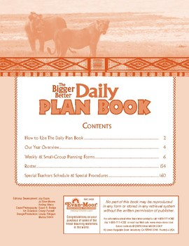 The Better Daily Plan Book