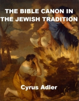 The Bible Canon in the Jewish Tradition