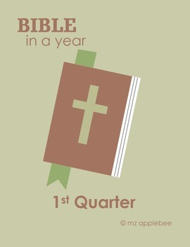 The Bible In a Year - 1st Quarter