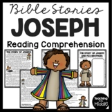 The Bible Story of Joseph and his Brothers Reading Comprehension Worksheet