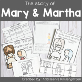 The Bible Story of Mary and Martha