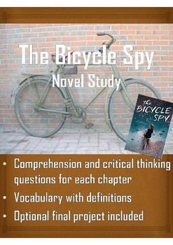 The Bicycle Spy - Novel Study