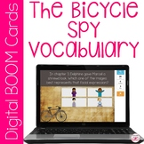The Bicycle Spy Vocabulary BOOM Cards