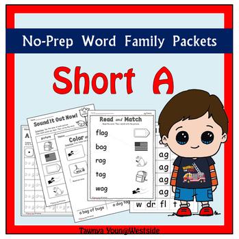 CVC Short A Word Families