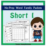 CVC Short I Word Families