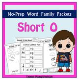 CVC Short O Word Families