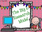 """The Big 6"" Research Model Templates"