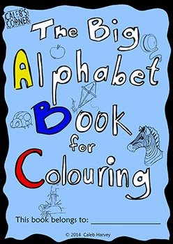 The Big Alphabet Book for Colouring - UK