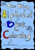 The Big Alphabet Book for Colouring - UK - Freebie