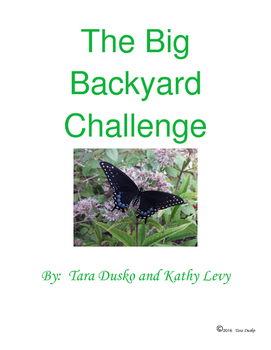 The Big Backyard Challenge - Inspire Your Students to Explore Nature