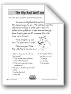 The Big Bad Wolf and Me (Character Traits/Comparisons)