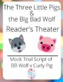 The Three Little Pigs and the Big Bad Wolf Mock Trial Reader's Theater