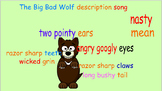 The Big Bad Wolf description song