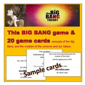 The Big Bang Educational & Fun game