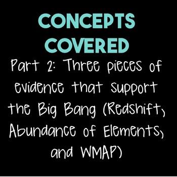 The Big Bang--Part 2