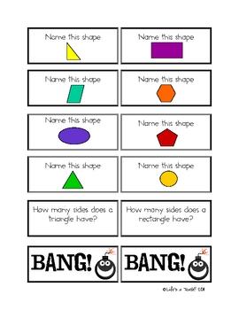 The Big, Big Bang Geometry Game!