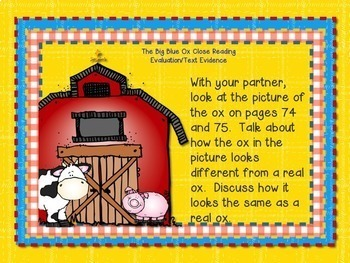 Reading Street, THE BIG BLUE OX, Teacher Pack by Ms. Lendahand:)