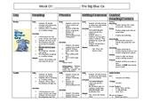 The Big Blue Ox Lesson Plan