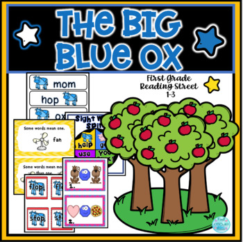 The Big Blue Ox- Reading Street Resources