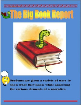 The Big Book Report  (100 marks)