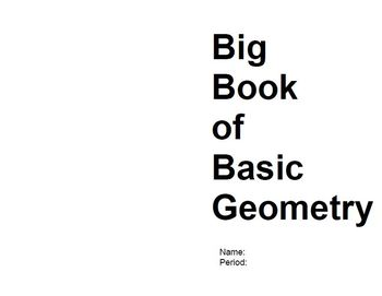The Big Book of Basic Geometry