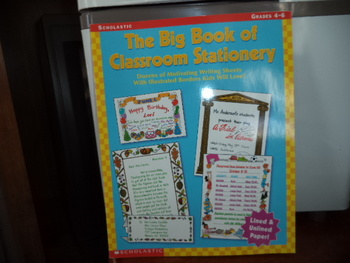 The Big Book of Classroom Stationery  ISBN#0-439-42066-0