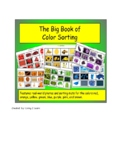 The Big Book of Color Sorting: Features Real-World Picture