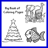 The Big Book of Printable Coloring Pages