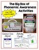 Phonemic Awareness - The Big Box of Phonemic Awareness Activities