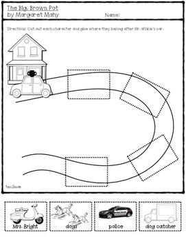 The Big, Brown Pot: Book Activities {Level J}